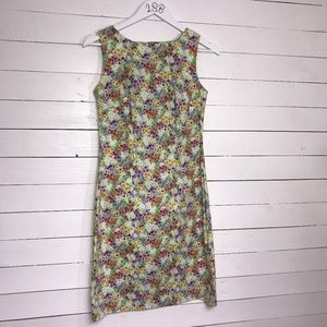 CDC floral sleeveless dress, sz. 8